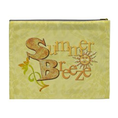 Sun & Fun Xl Cosmetic Bag By Lil    Cosmetic Bag (xl)   0ek6z1rd88rf   Www Artscow Com Back