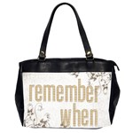 Remember When Heritage oversized office bag - Oversize Office Handbag (Two Sides)