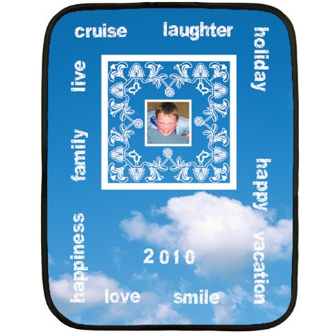 Cruise Vacation Mini Fleece 3 By Catvinnat   Fleece Blanket (mini)   4ilhted3wgid   Www Artscow Com 35 x27 Blanket