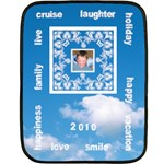 Cruise vacation Mini Fleece 3 - Fleece Blanket (Mini)