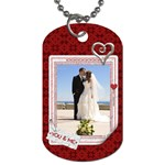 You & Me 1-Sided Dog Tag - Dog Tag (One Side)