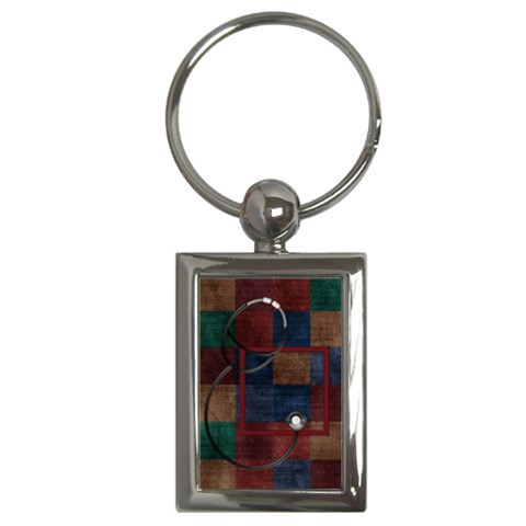 Key Chain All Better 1001 By Lisa Minor   Key Chain (rectangle)   B3bwj2cuktsc   Www Artscow Com Front
