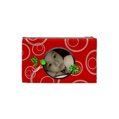 Red Custom Cosmetic Bag   Small By Purplekiss   Cosmetic Bag (small)   80kavip09xp6   Www Artscow Com Back