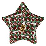 Merry christmas  -  ORNAMENT - Star Ornament (Two Sides)