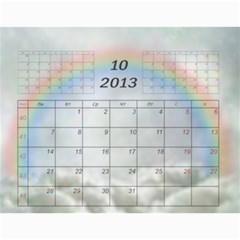 Nature Calendar 2012 By Galya   Wall Calendar 11  X 8 5  (12 Months)   Cd9sguhgwjmt   Www Artscow Com Oct 2012
