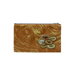 Cosmetic Bag Small Scents Of Christmas 1001 By Lisa Minor   Cosmetic Bag (small)   Bkq2cxdc0gs2   Www Artscow Com Back