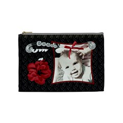 Fancy Styled Cosmetic Bag By Sheri Ellis   Cosmetic Bag (medium)   Ltcpsiexffu8   Www Artscow Com Front