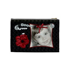Fancy Styled Cosmetic Bag By Sheri Ellis   Cosmetic Bag (medium)   Ltcpsiexffu8   Www Artscow Com Back