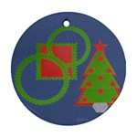 Christmas tree - Ornament (Round)