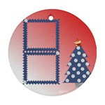 Chrismas tree 1 - Ornament (Round)