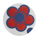 Flower - Ornament (Round)