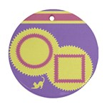 Cat - Ornament (Round)
