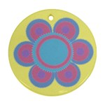 Beautiful flower - Ornament (Round)
