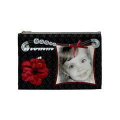 Fancy Styled Cosmetic Bag2 By Sheri Ellis   Cosmetic Bag (medium)   Q2xuxydzbum7   Www Artscow Com Front