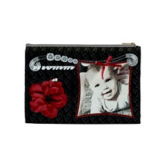 Fancy Styled Cosmetic Bag2 By Sheri Ellis   Cosmetic Bag (medium)   Q2xuxydzbum7   Www Artscow Com Back