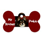 Pookie Tag - Dog Tag Bone (One Side)