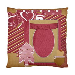 Pillow I Heart Christmas 1002 By Lisa Minor   Standard Cushion Case (two Sides)   Fhyk5zr9f8ku   Www Artscow Com Front