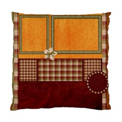 Pillow Gingy Holiday 1002 By Lisa Minor   Standard Cushion Case (two Sides)   Llidcw05u3vg   Www Artscow Com Front
