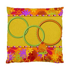 Pillowcase Miss Ladybugs Garden 1001 By Lisa Minor   Standard Cushion Case (two Sides)   Iz1adhihjj34   Www Artscow Com Front