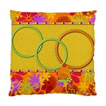 Pillowcase-Miss Ladybugs Garden 1001 - Cushion Case (Two Sides)