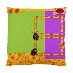 Pillow Miss Ladybugs Garden 1002 By Lisa Minor   Standard Cushion Case (two Sides)   7cz5ty02jikc   Www Artscow Com Front