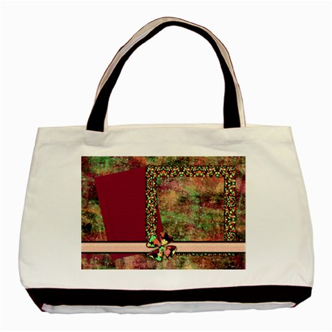 Tote Girl Power 1002 By Lisa Minor   Basic Tote Bag   Lsy64qm9nh49   Www Artscow Com Front