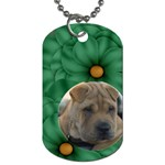 New Year Dog Tag - Dog Tag (One Side)
