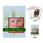 christmas - Playing Cards Single Design