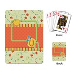 Playing Cards-Fanciful Fun 1001 - Playing Cards Single Design