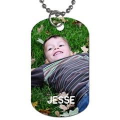 Jesse Dog Tag By Lisa   Dog Tag (two Sides)   Jg41y83ifu9n   Www Artscow Com Front