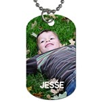 JEsse dog tag - Dog Tag (Two Sides)
