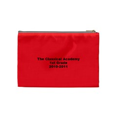 1st Grade Christmas Present By Julie Mcdonald   Cosmetic Bag (medium)   Q691glf33iht   Www Artscow Com Back