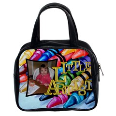 Little Artist Craft Bag By Sheri Ellis   Classic Handbag (two Sides)   Aje892cuya71   Www Artscow Com Front
