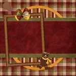 Gingy Holiday Canvas 20x20 1001 - Canvas 20  x 20