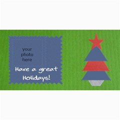 Christmas Cards By Daniela   4  X 8  Photo Cards   G9by7kg4d79i   Www Artscow Com 8 x4 Photo Card - 5
