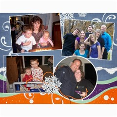 Our Family Viau 2011 By Kellie   Wall Calendar 11  X 8 5  (12 Months)   76cwqd8tzbcl   Www Artscow Com Month