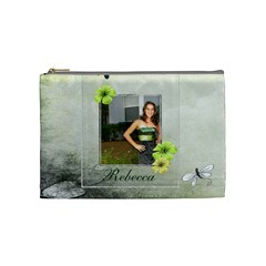 Beca Bag By Elizabeth Leal   Cosmetic Bag (medium)   X4jc7jc68x1q   Www Artscow Com Front