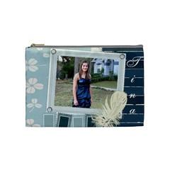 Tina Bag By Elizabeth Leal   Cosmetic Bag (medium)   Nf0efw55ohn1   Www Artscow Com Front