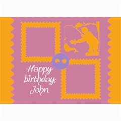 Happy Birthday Kids 7x5 Cards By Daniela   5  X 7  Photo Cards   102n50mo4sre   Www Artscow Com 7 x5 Photo Card - 2