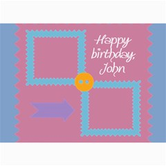Happy Birthday Kids 7x5 Cards By Daniela   5  X 7  Photo Cards   102n50mo4sre   Www Artscow Com 7 x5 Photo Card - 4