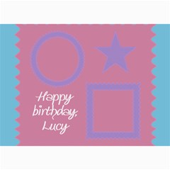 Happy Birthday Kids 7x5 Cards By Daniela   5  X 7  Photo Cards   102n50mo4sre   Www Artscow Com 7 x5 Photo Card - 5