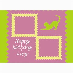 Happy Birthday Kids 7x5 Cards By Daniela   5  X 7  Photo Cards   102n50mo4sre   Www Artscow Com 7 x5 Photo Card - 7