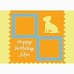 Happy Birthday Kids 7x5 Cards By Daniela   5  X 7  Photo Cards   102n50mo4sre   Www Artscow Com 7 x5 Photo Card - 8