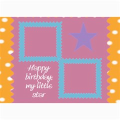 Happy Birthday Kids 7x5 Cards By Daniela   5  X 7  Photo Cards   102n50mo4sre   Www Artscow Com 7 x5 Photo Card - 10