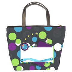 A Space Story Bucket Bag 1001 By Lisa Minor   Bucket Bag   9x97k32z3cs6   Www Artscow Com Back