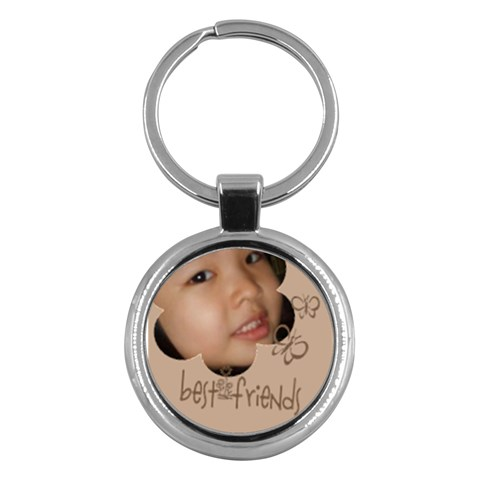 Custom Key Chain Round   Bestfriends By Purplekiss   Key Chain (round)   Rj0r2hyfzm5j   Www Artscow Com Front