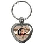 Custom Key Chain Heart-Cute - Key Chain (Heart)