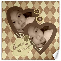 Choco Mocha Photo Canvas 12 X 12 By Purplekiss   Canvas 12  X 12    7razg8daf4wy   Www Artscow Com 12 x12 Canvas - 4