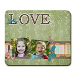 love  mouse pad 2 - Large Mousepad
