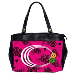 Retro Bag By Carmensita   Oversize Office Handbag (2 Sides)   Akz1wxydrdxp   Www Artscow Com Front